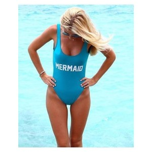 PRIVATE PARTY Mermaid One Piece Swimsuit m/l