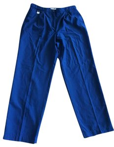 Liz Claiborne Trouser Pants Navy Blue