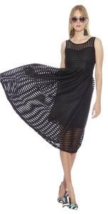 Christian Siriano Mesh Cs Trend Lace Dress