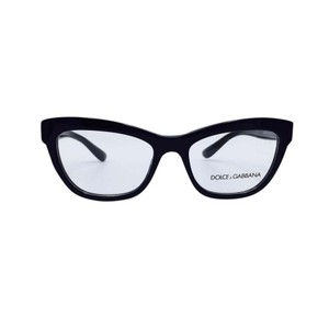 Dolce&Gabbana Cat Eye Polished Black Rx Eyeglasses 3253 501