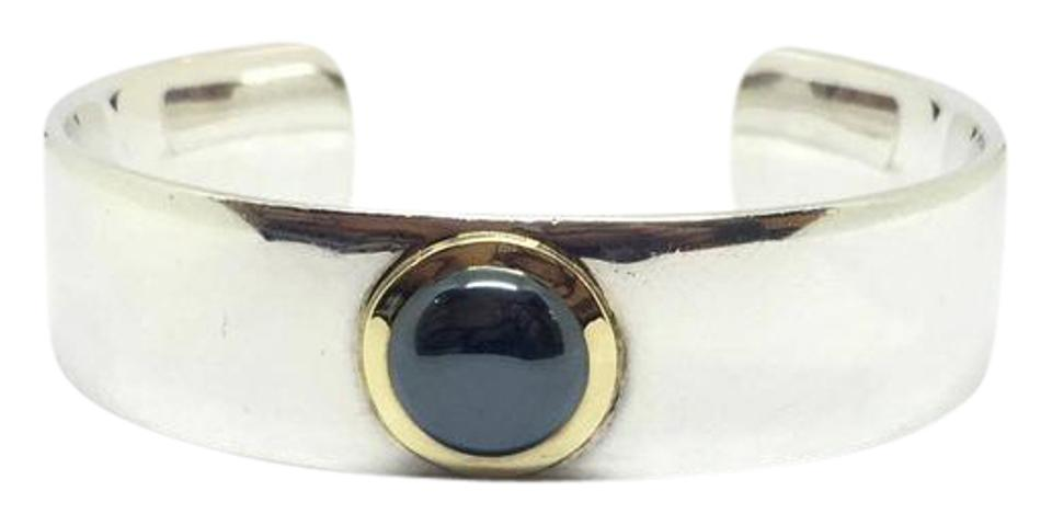 7f8f527e3 Tiffany & Co. Tiffany & Co. Sterling Silver 1999 Hematite Cuff with 18k  Yellow ...