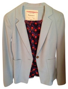 Anthropologie Light Blue Blazer