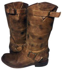 FreeBird Size 9 Women Size 9 Motorcycle 9 Brown Boots