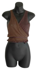 Sarah Pacini Top brown