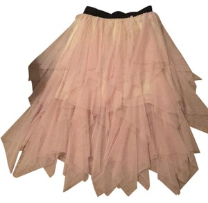 Free People Maxi Skirt Blush