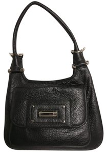 Banana Republic Leather Handbag Collection Satchel in Black