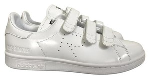 cheap for discount 0b8f2 31e35 adidas by Raf Simons White Stan Smith Comfort Velcro Sneakers Size US  Regular (M, B) 62% off retail