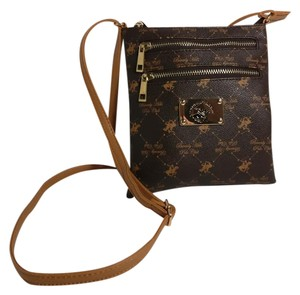 Beverly Hills Polo Club Faux Leather New Cross Body Bag
