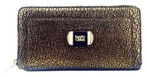 See by Chlo See By Chloe Metallic Brown And Gold Continental Wallet New