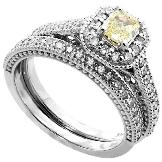 Preload https://img-static.tradesy.com/item/21528320/abc-jewelry-g-color-si2-clarity-100ct-yellow-fancy-radiant-diamond-set-complete-eddie-design-engagem-0-0-540-540.jpg