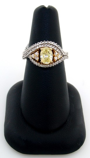 Preload https://img-static.tradesy.com/item/21528368/abc-jewelry-yellow-color-si1-clarity-with-101ct-natural-in-center-and-153ct-women-s-wedding-band-set-0-0-540-540.jpg