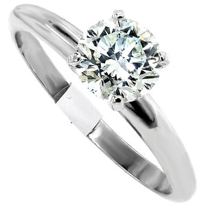ABC Jewelry J Color Si2 Clarity Brilliant Cut Solitare Engagement Ring