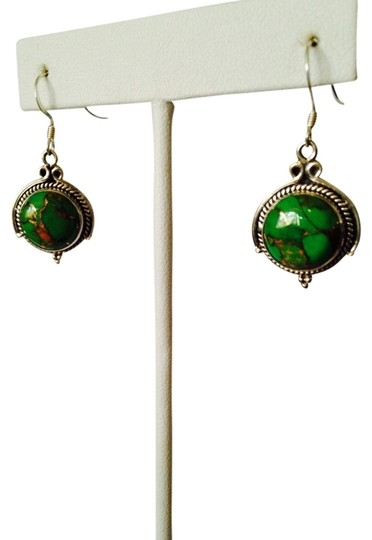 Preload https://img-static.tradesy.com/item/2152841/kelly-greensilver-mojave-copper-turquoise-and-sterling-earrings-0-0-540-540.jpg