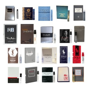 Versace Cartier, Dior, Hermes ANY 6 EDT for Men Travel Size Mini Spray Sample