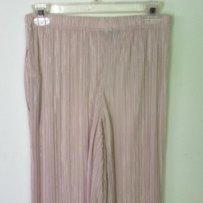 Topshop Pleated Summer Cullottes Nordstrom Wide Leg Pants pink Image 4