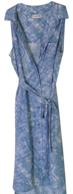 Preload https://img-static.tradesy.com/item/21528926/calvin-klein-blue-sleeveless-belted-button-down-mid-length-short-casual-dress-size-6-s-0-1-650-650.jpg
