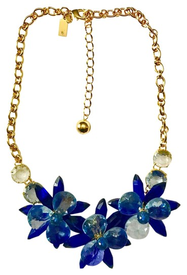 Preload https://img-static.tradesy.com/item/21529105/kate-spade-gold-blue-crystal-flowers-collar-necklace-0-1-540-540.jpg