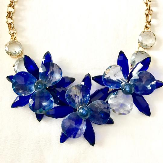 Kate Spade crystal flowers collar necklace Image 1