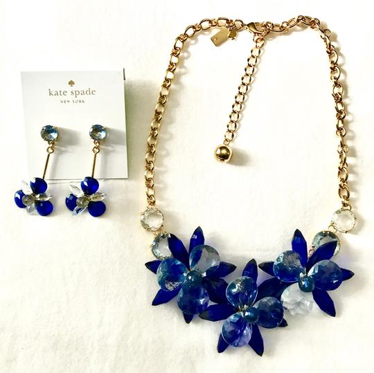 Kate Spade crystal flowers collar necklace Image 4