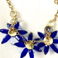 Kate Spade crystal flowers collar necklace Image 6