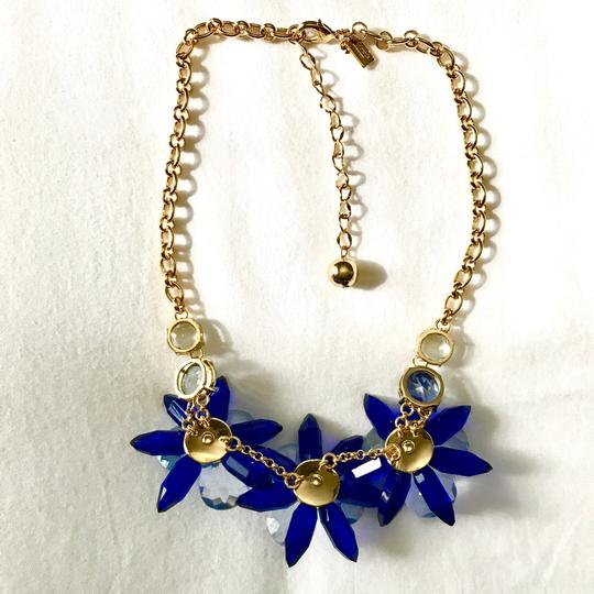 Kate Spade crystal flowers collar necklace Image 7