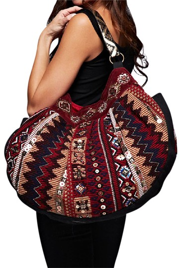 Preload https://img-static.tradesy.com/item/21529504/love-stitch-beaded-embellished-dual-sided-tapestry-red-combo-cotton-blend-hobo-bag-0-1-540-540.jpg
