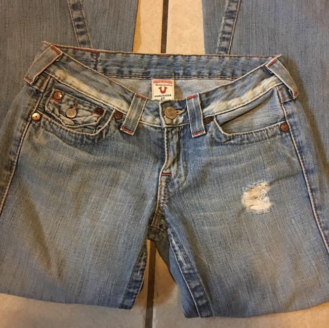 True Religion Relaxed Fit Jeans-Distressed Image 2