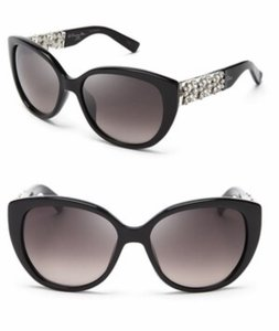 d124f26bc1f33 Dior Black Christian Special Edition Cat Eye Sunglasses - Tradesy