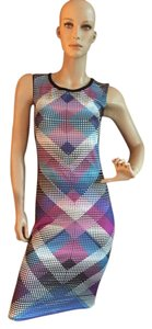 Romeo & Juliet Couture Knee Length Fitted Sleeveless Dress