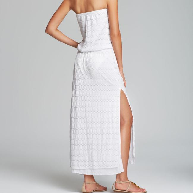 white Maxi Dress by Vitamin A Image 1