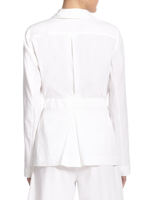 Theory Cotton Button Down Shirt White Image 5