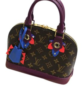 Louis Vuitton Magenta Alma Bb Limited Edition Cross Body Bag