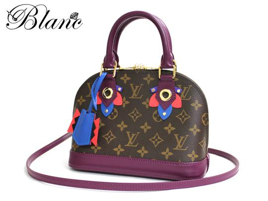Louis Vuitton Magenta Alma Bb Limited Edition Cross Body Bag Image 2