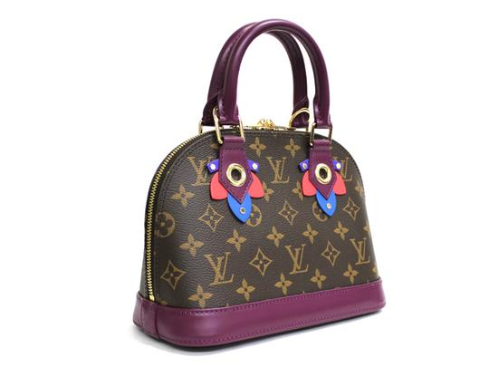 Louis Vuitton Magenta Alma Bb Limited Edition Cross Body Bag Image 3