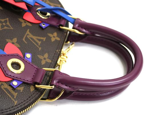 Louis Vuitton Magenta Alma Bb Limited Edition Cross Body Bag Image 4