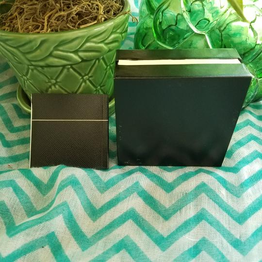 Montblanc Single Mont Blanc Sterling Star earring Box and book