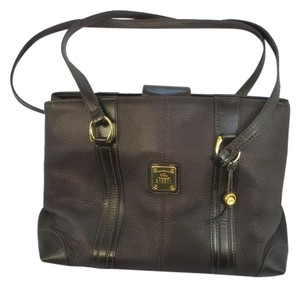 Handcrafted Leather/HCL Mint Vintage M-l Size Rare All Style Gold Hardware Satchel in HCL logo Black Leather
