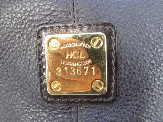 Handcrafted Leather/HCL Mint Vintage M-l Size Rare All Style Gold Hardware Satchel in HCL logo Black Leather Image 1