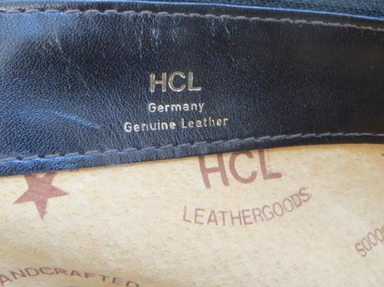 Handcrafted Leather/HCL Mint Vintage M-l Size Rare All Style Gold Hardware Satchel in HCL logo Black Leather Image 3