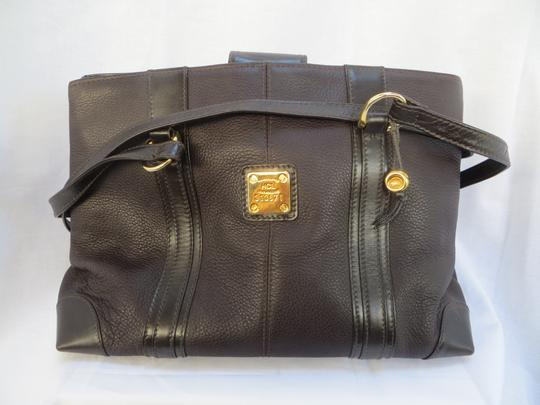Handcrafted Leather/HCL Mint Vintage M-l Size Rare All Style Gold Hardware Satchel in HCL logo Black Leather Image 6