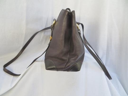 Handcrafted Leather/HCL Mint Vintage M-l Size Rare All Style Gold Hardware Satchel in HCL logo Black Leather Image 7