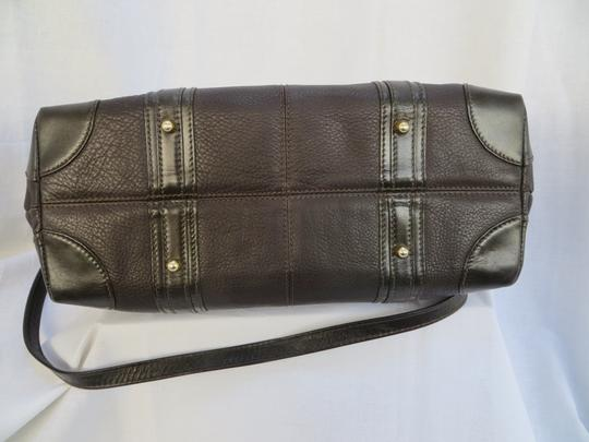 Handcrafted Leather/HCL Mint Vintage M-l Size Rare All Style Gold Hardware Satchel in HCL logo Black Leather Image 8