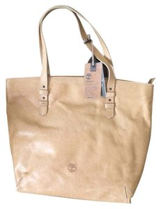 Timberland Tote in Tan Natural Leather