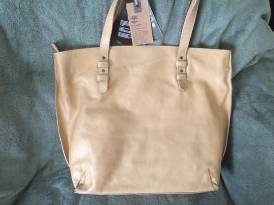Timberland Tote in Tan Natural Leather Image 2