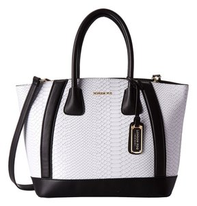 London Fog Tote in White