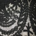 other Embroidered Lace Fancy Night Crochet Top black Image 4