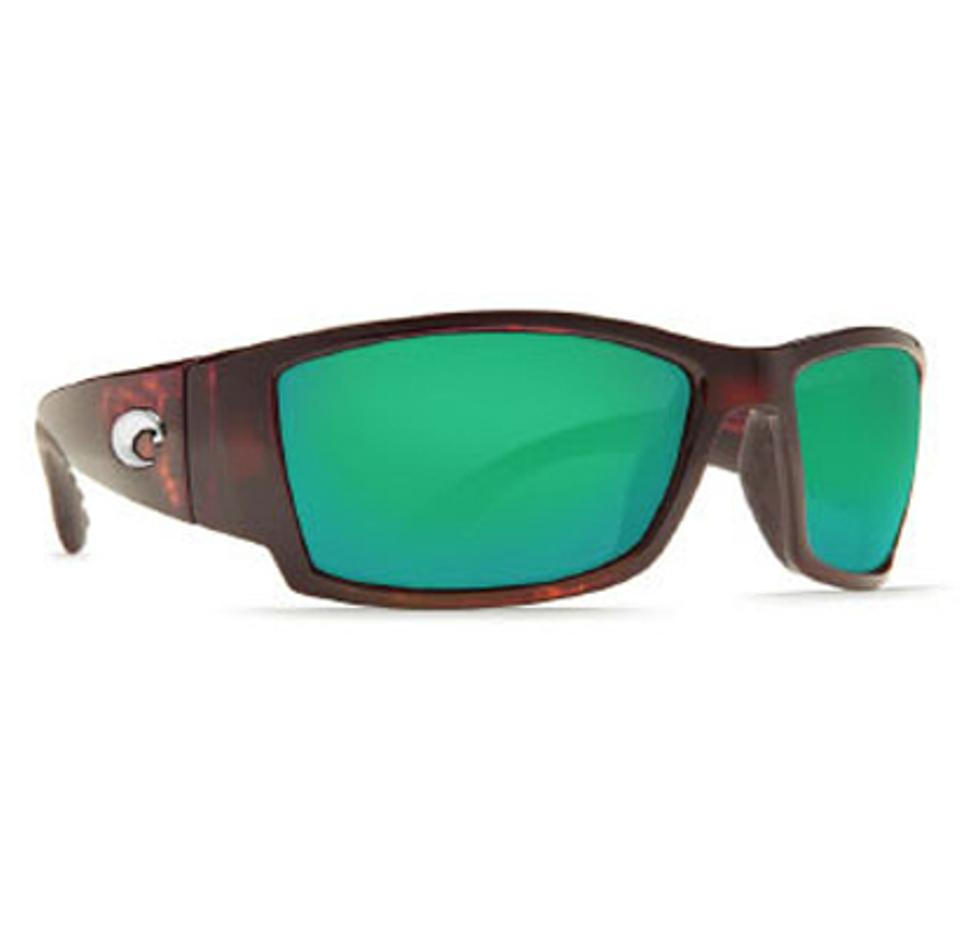 0e740c50814e Costa Del Mar Costa Del Mar Sunglasses Corbina Tortoise Green Mirror Wave  580 Glass Image 0 ...