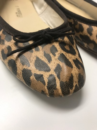 A.P.C. Ballet Leopard Leather Leather animal print Flats Image 1