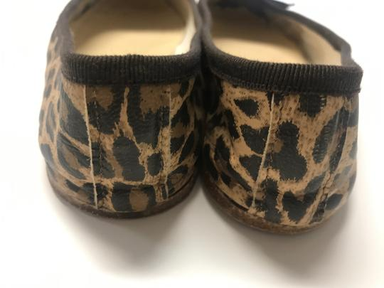 A.P.C. Ballet Leopard Leather Leather animal print Flats Image 2