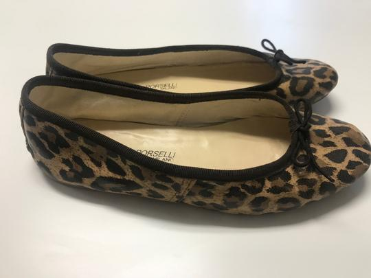 A.P.C. Ballet Leopard Leather Leather animal print Flats Image 3